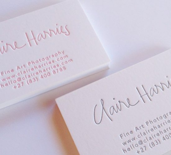 Stationery printing company corporate stationery printing services business cards reheart Gallery